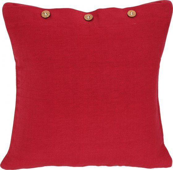 Reddy Red Cushion Cover #redcushion #redcushioncover #christmascushion #christmasdecor #red #redcottoncushion #homedecor #homeinspo #redpillow