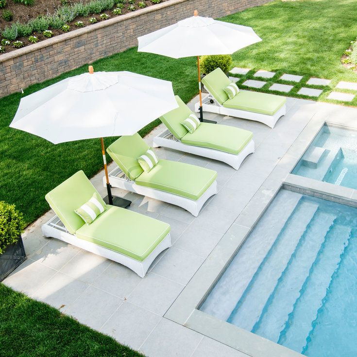 Poolside Perch - 2016 Hamptons Showhouse Sneak Peek - Coastal Living