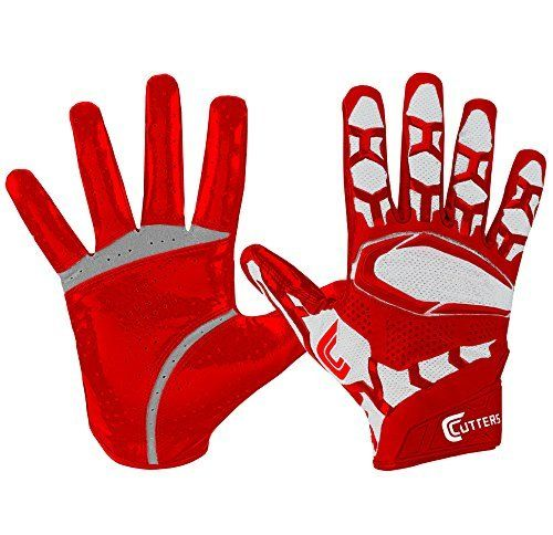 Cutters S541 Rev Pro 3D 2.0 Receiver, Safety, Cornerback Football Gloves with Ultra Sticky C-Tack Grip, Adult by Cutters. Cutters S541 Rev Pro 3D 2.0 Receiver, Safety, Cornerback Football Gloves with Ultra Sticky C-Tack Grip, Adult. Adult M.