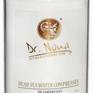 Comprese Marea Moartă Dr. Nona  (DEAD SEA WATER COMPRESS)  Ingrediente active: ulei de lavandă, extract de aloe vera, ulei cajeput, apa din Marea Moarta, complex bio-organic cu minerale (CBOM). - Mai multe: http://szeszterke.ro/drnonaromania/produs/comprese-marea-moarta-dr-nona/