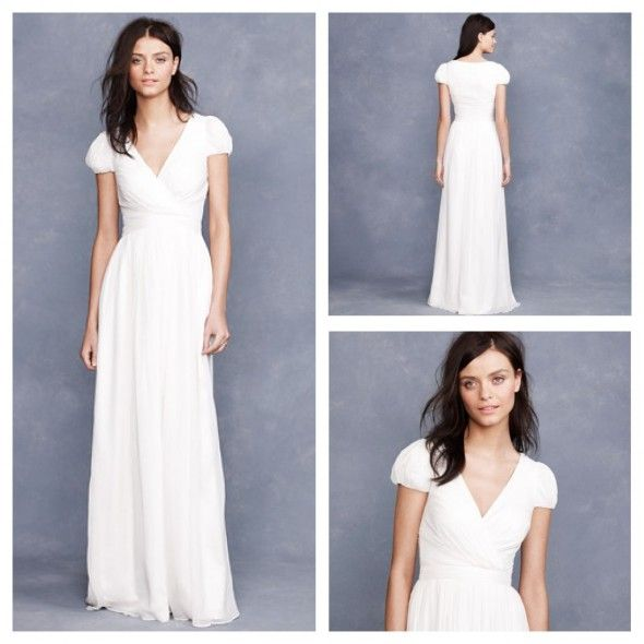 Ask Maggie: J.Crew Wedding Gowns For A Rustic Wedding