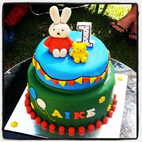 Miffy cake / Nijntje taart