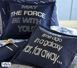 Love these star wars cushions