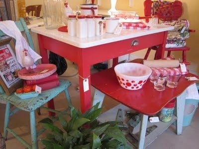 16 best Turquoise Red Retro Kitchen images on Pinterest Retro