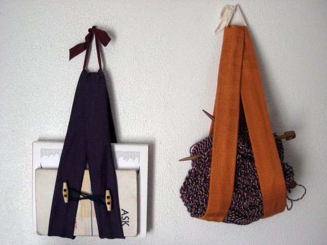 storage slingsStorage Solutions, Recycle Denim, Fabrics Sling, Felt Wool, Storage Sling, Diy Crafts, Denim Storage, Crafts Organic, Diy Storage