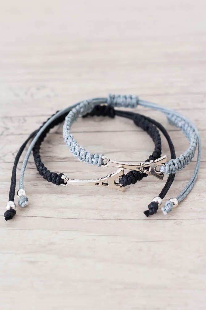 25 unique matching couple bracelets ideas on pinterest