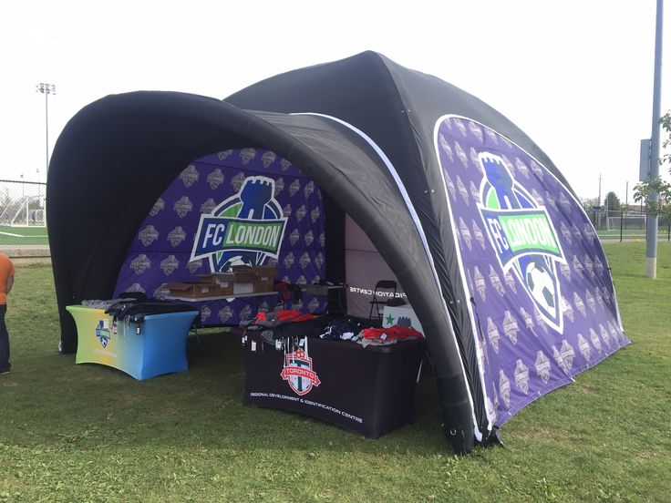Nothing we love more than seeing our products in action 😊 Got a great pic you wanna share? Send it in we would love to see it! Info@ohmyprintsolutions.com #ohmyprint #popuptent #inflatable #inflatabletent #fabric #fabricprint #sports #soccer #family #toronto #vancouver #fclondon #londonontario #canada #inflatable #eventprofs #sportsentertainment #marketing
