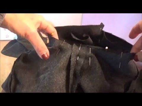 How to make a sleeve pattern (elastic fabrics)-Πως φτιάχνω ένα πατρόν μανικιού (ελαστικά υφάσματα) - YouTube