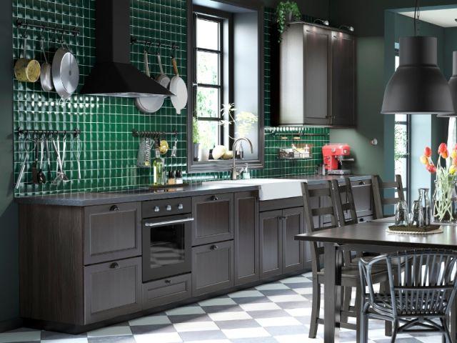17 meilleures id es propos de cuisine ikea noire sur for Cuisine en contreplaque