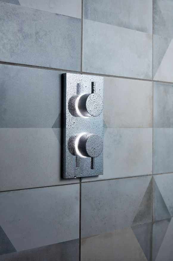 The clean, subtle design of our digital showers allows them to blend seamlessly into every style of bathroom – and that's what makes them unique - Kai Digital Shower Collection from Crosswater. http://www.crosswater.co.uk/category/digital-digital-showers-browse-by-range-kai/