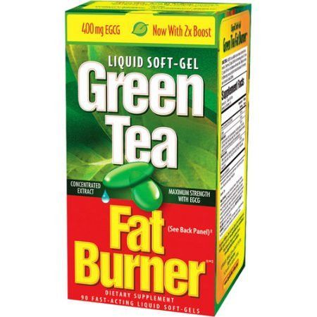 Green Tea Fat Burner: Fat Burner Dietary Supplement Green Tea, 90 ct