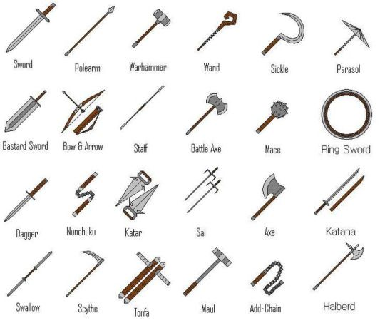 medieval weapons generator - Google Search