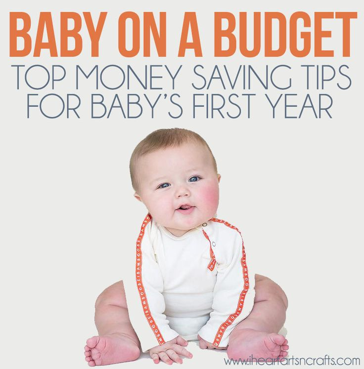 Baby On A Budget | Top Money Saving Tips For Baby's First Year | I Heart Arts n Crafts