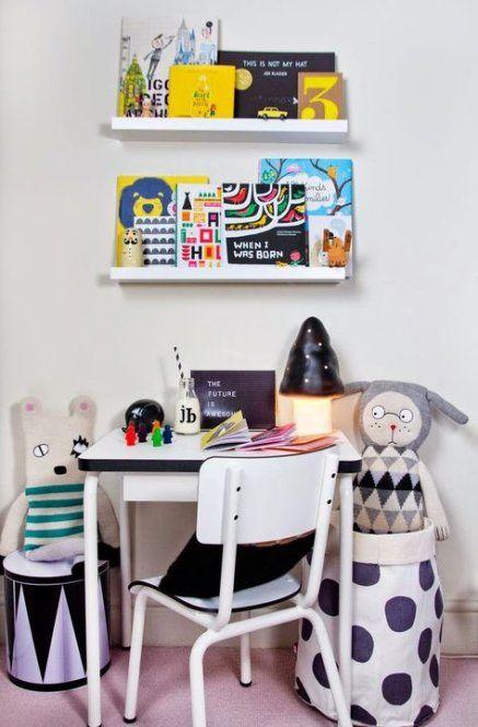 Chambre 25 idées pour les enfants Bureau Desk Boy Decor