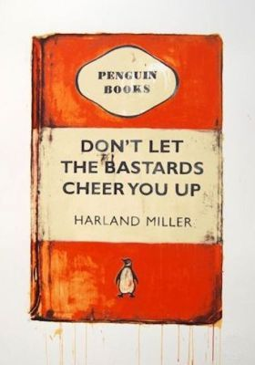 Harland Miller - Limited edition print