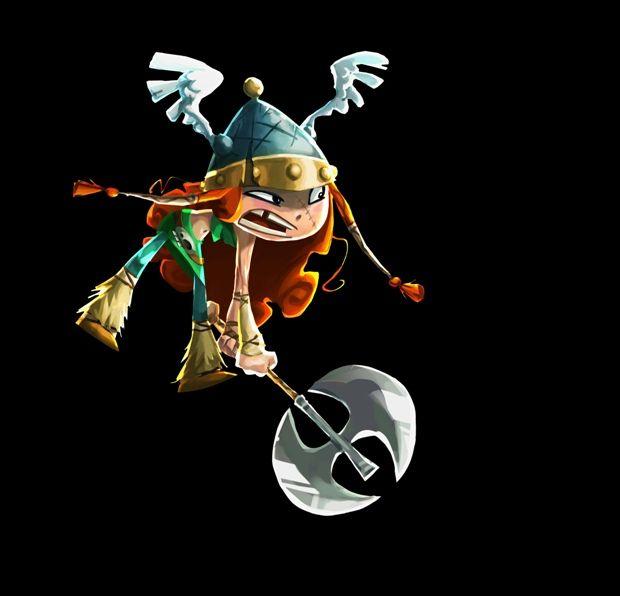 Rayman Concept Art