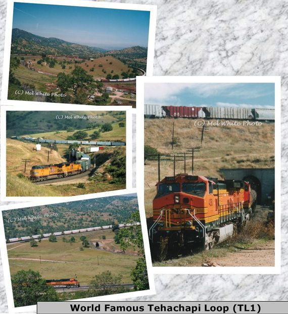 4-pack Tehachapi Loop photo greeting cards by MelWhitePhoto