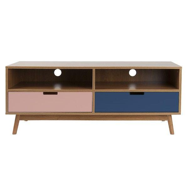 Graceful Cabinet - Large - Pink - Leitmotiv TV Stand
