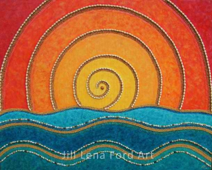 Radiate and Flow By Jill Lena Ford.