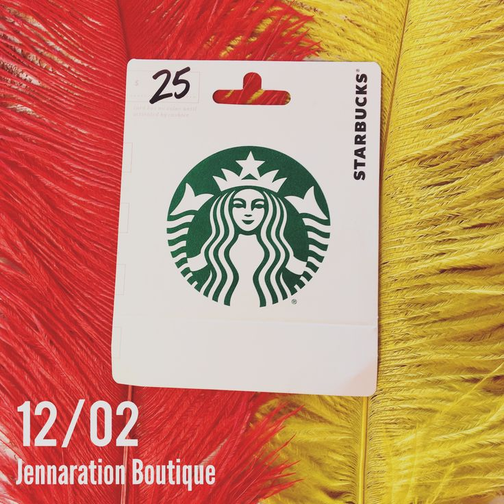 25 Days of Jenna's Faves {DAY 2} Today we're giving away a $25 giftcard to Starbucks! To enter: Repin this photo, and must be following us. Enter on ALL social media sites for extra entries (Instagram, Facebook, Facebook VIP group, Twitter, Snapchat) Winner will be randomly selected on 12/05 and will be announced in the comments below ☕️
