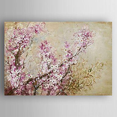 óleo pintura flores mão lona esticada com emoldurado pintados de 4742894 2016 por R$250,09