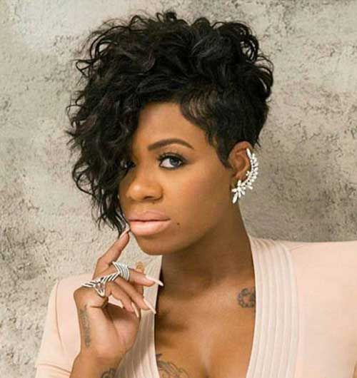 20 Short Curly Hairstyles for Black Women //  #Black #Curly #Hairstyles #Short #Women