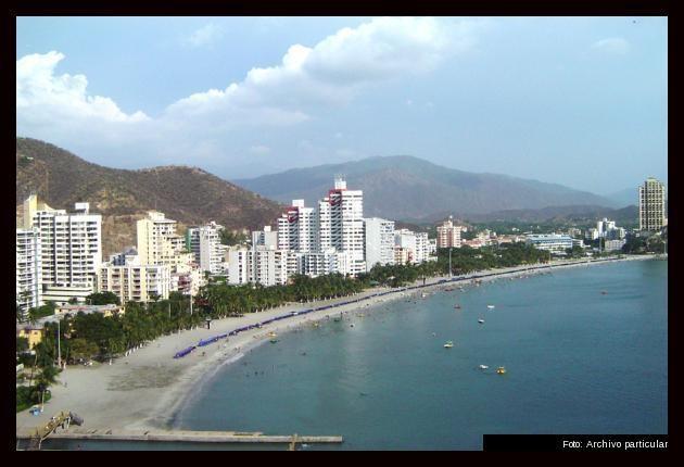 playas de Rodadero Colombia