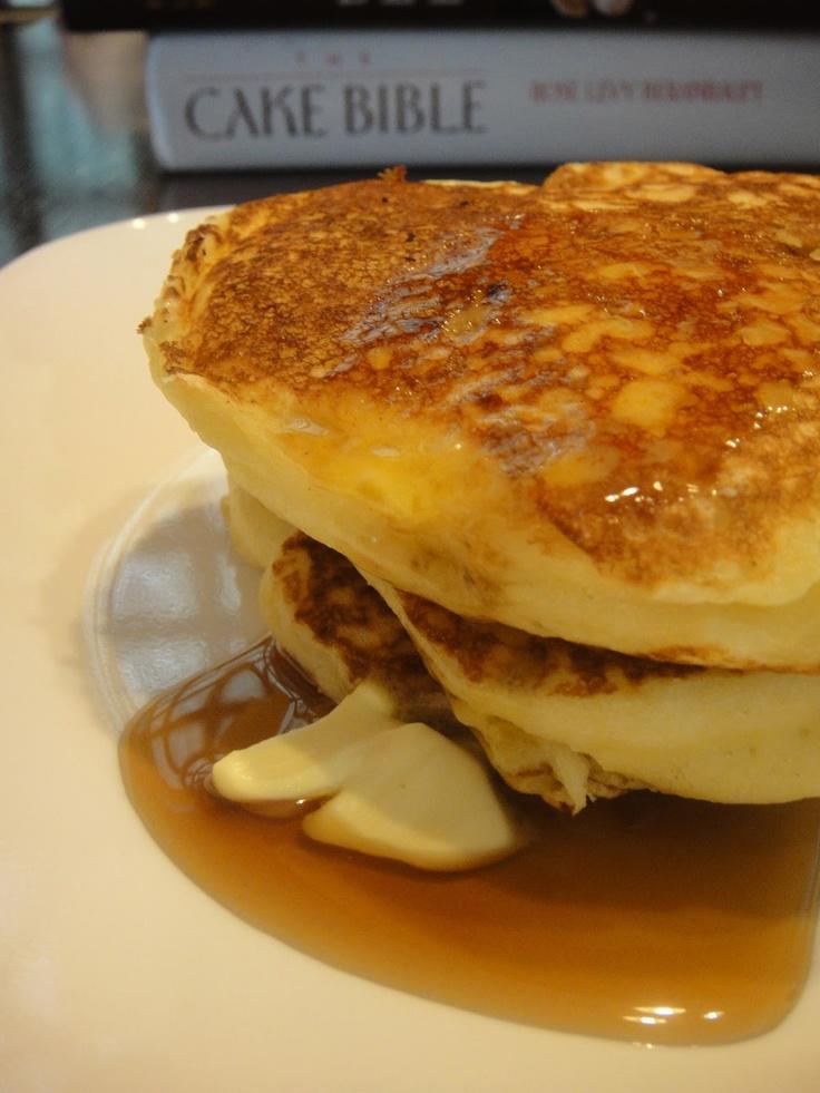 Crumbs and Cookies: Alton Brown's Pancakes