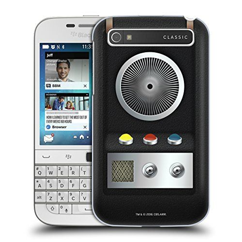Official Star Trek Communicator Gadgets Hard Back Case for BlackBerry Classic Q20 *** Visit the image link more details.