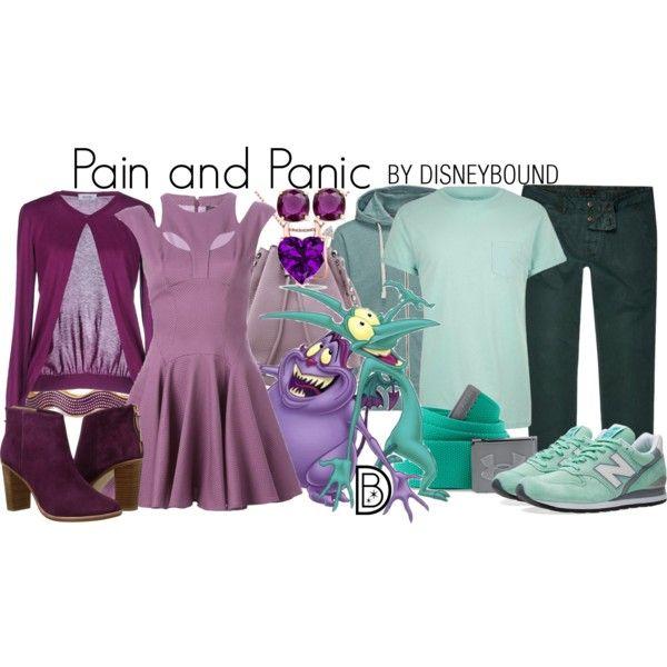 Disney Bound - Pain and Panic