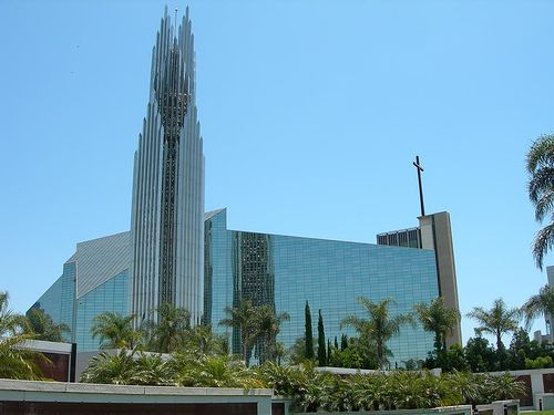 Crystal Cathedral,  Orange Grove California. Architect Philip Johnson