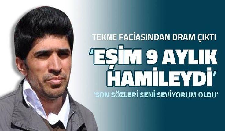 """Faciadan kurtulan ve bir süre hastanede tedavi gören Hamid Jawady Eşim 9 aylık hamileydi tekne battıktan sonra ona sarılıp yardım gelmesini bekledim. Ama dayanamadı ve sulara gömüldü son sözleri 'Seni seviyorum Hamid' oldu. Kelime-i Şahadet getirdi ve sulara gömüldü. Çocuğumu kucağıma alamadım"""" dedi.  Haberin tamamı www.izgazete.net 'te  #izgazete #izmir  #mülteci by izgazete #masiva http://masiva.org"""