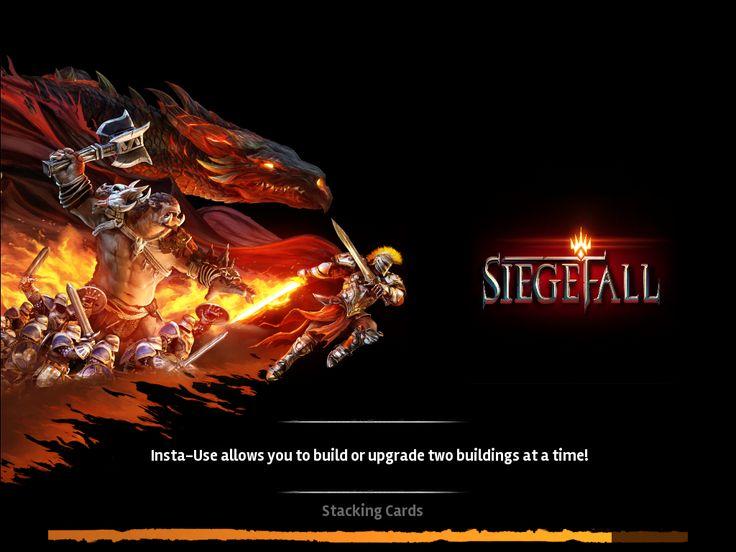 Siegefall | Splash From Game Launch | UI HUD User Interface Game Art GUI iOS Apps Games | Gameloft | www.girlvsgui.com