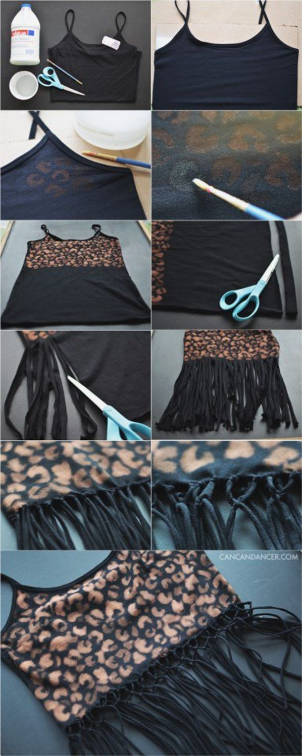 10 DIY Clothes Ideas For Girls