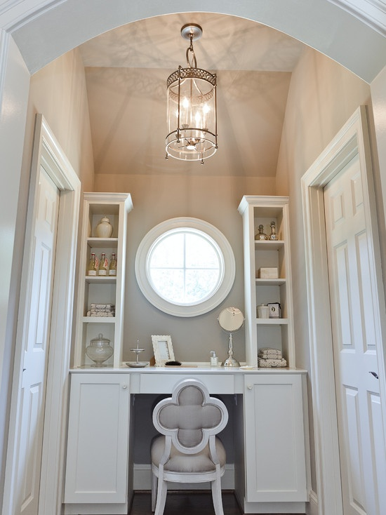 Vanity Inside Walk In Closet Design, Pictures, Remodel, Decor And Ideas