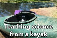 Teaching science from a kayak