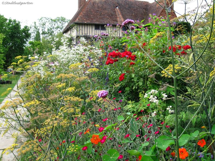 Stadtlustgarten: Englische Gärten - Great Dixter House and Garden / Sussex
