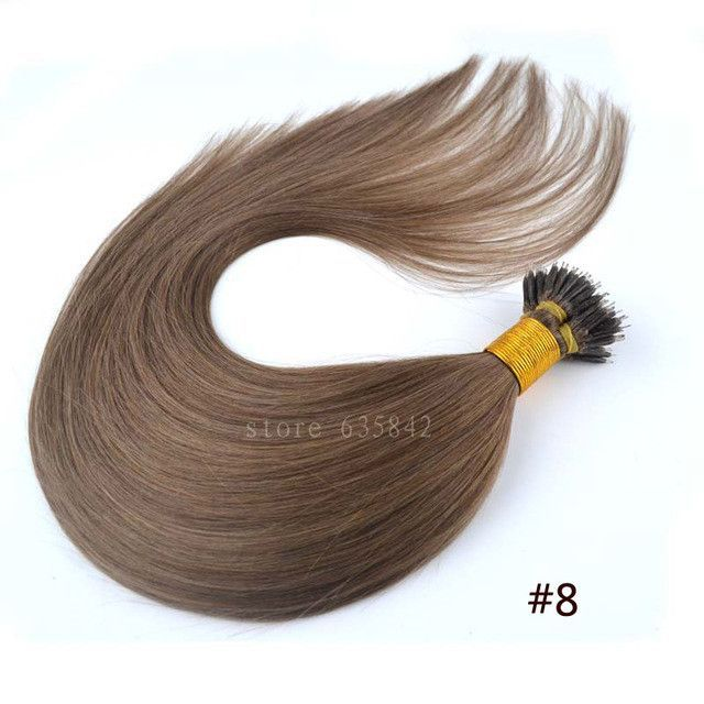 """Nano Ring Micro Loop Hair Extensions 1g*100s 20""""/50cm 100g Straight Human Remy Natural Hair Black Brown Blonde available"""