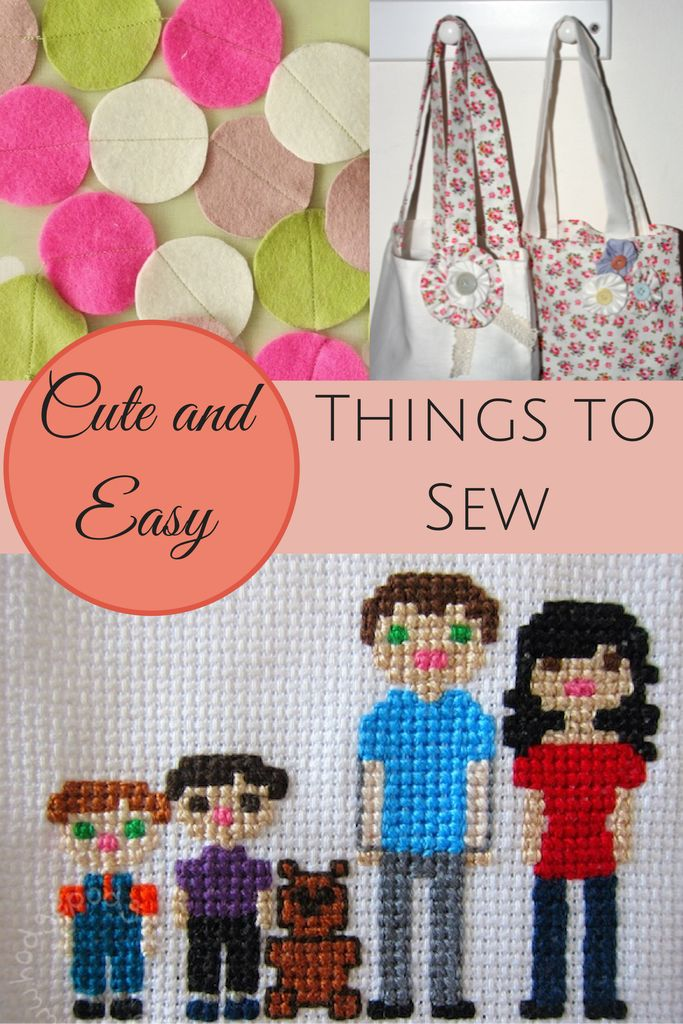 easy things to sew with a sewing machine