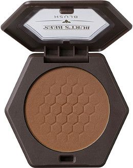 Burt's Bees Online Only Blush Color:Toasted Cinnamon (tawny brown ideal for tan or dark skin tones)Toasted Cinnamon (tawny brown ideal for tan or dark skin tones)