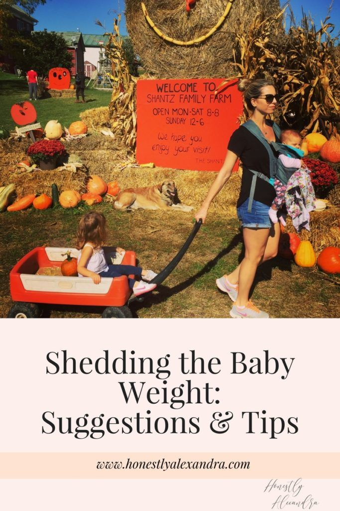 Shedding the Baby Weight: Suggestions & Tips