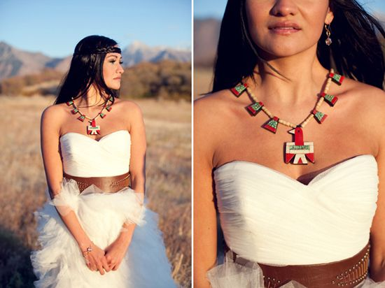 Oh gods, yes. I would love a Native American touch to my wedding.