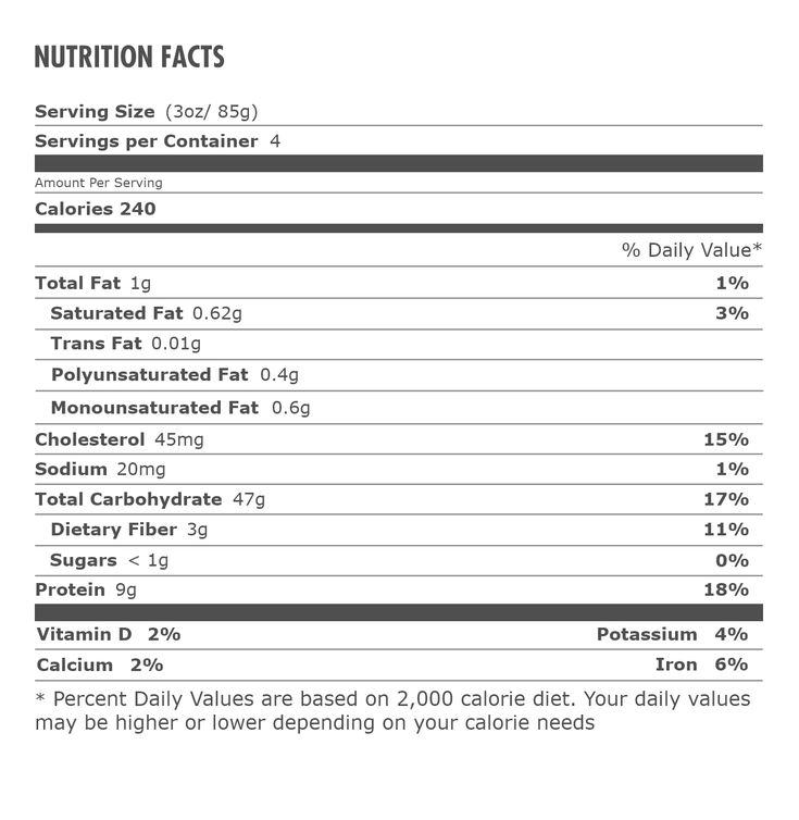 Nutrition Facts Wildgrain Nutrition Facts Rye Bread Ingredients Nutrition