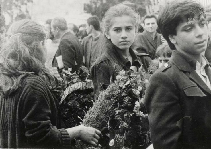 afther 9 april tragedy, tbilisi 1989