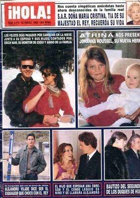 PRINCESS CAROLINE OF MONACO Hola magazine Spain 1992   #185866957