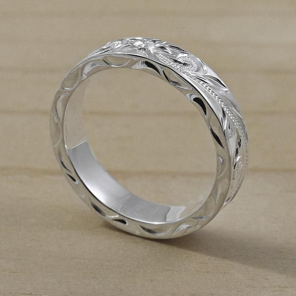 If you want a ring with beautiful Hawaiian designs, our Sterling Silver Wedding Rings are the perfect choice. Try our Sterling Silver Wedding Bands.
