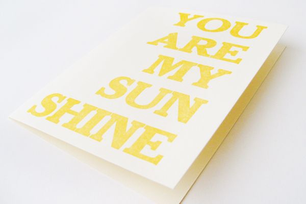 May Day Studio Sunshine Card3 Hello Brick & Mortar: Trends, Unsolicited Advice and Wild Ideas