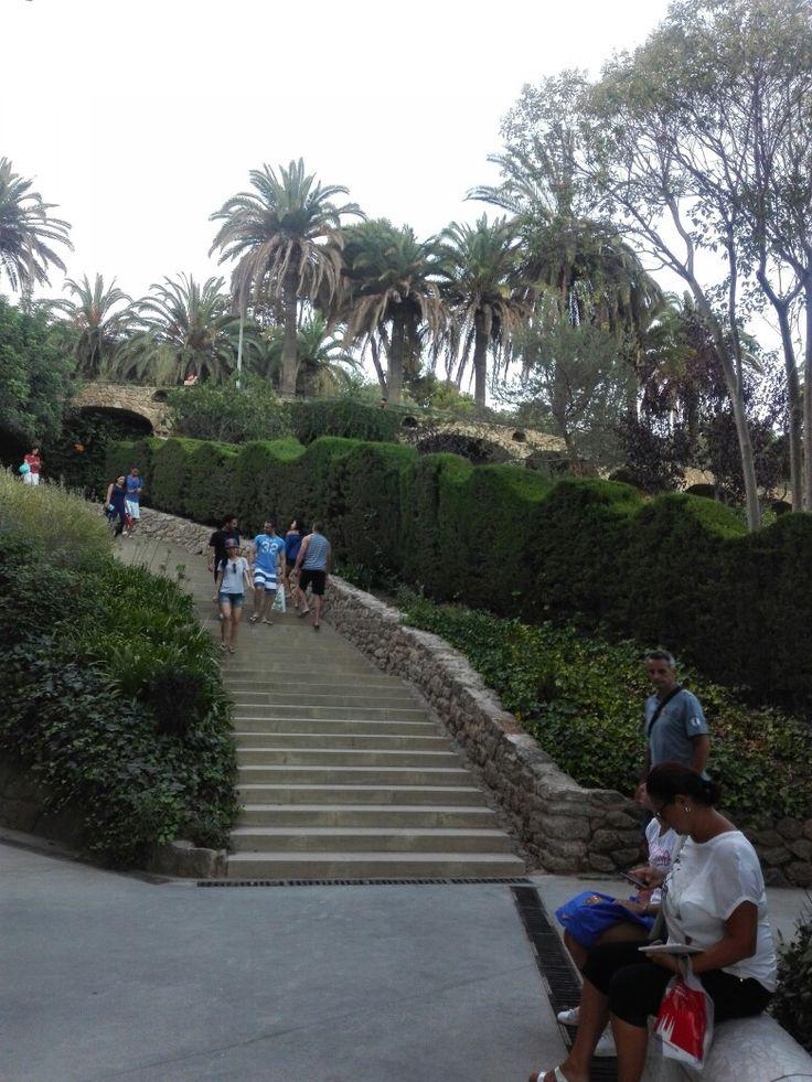 Park Güell. Barcelona, Spain