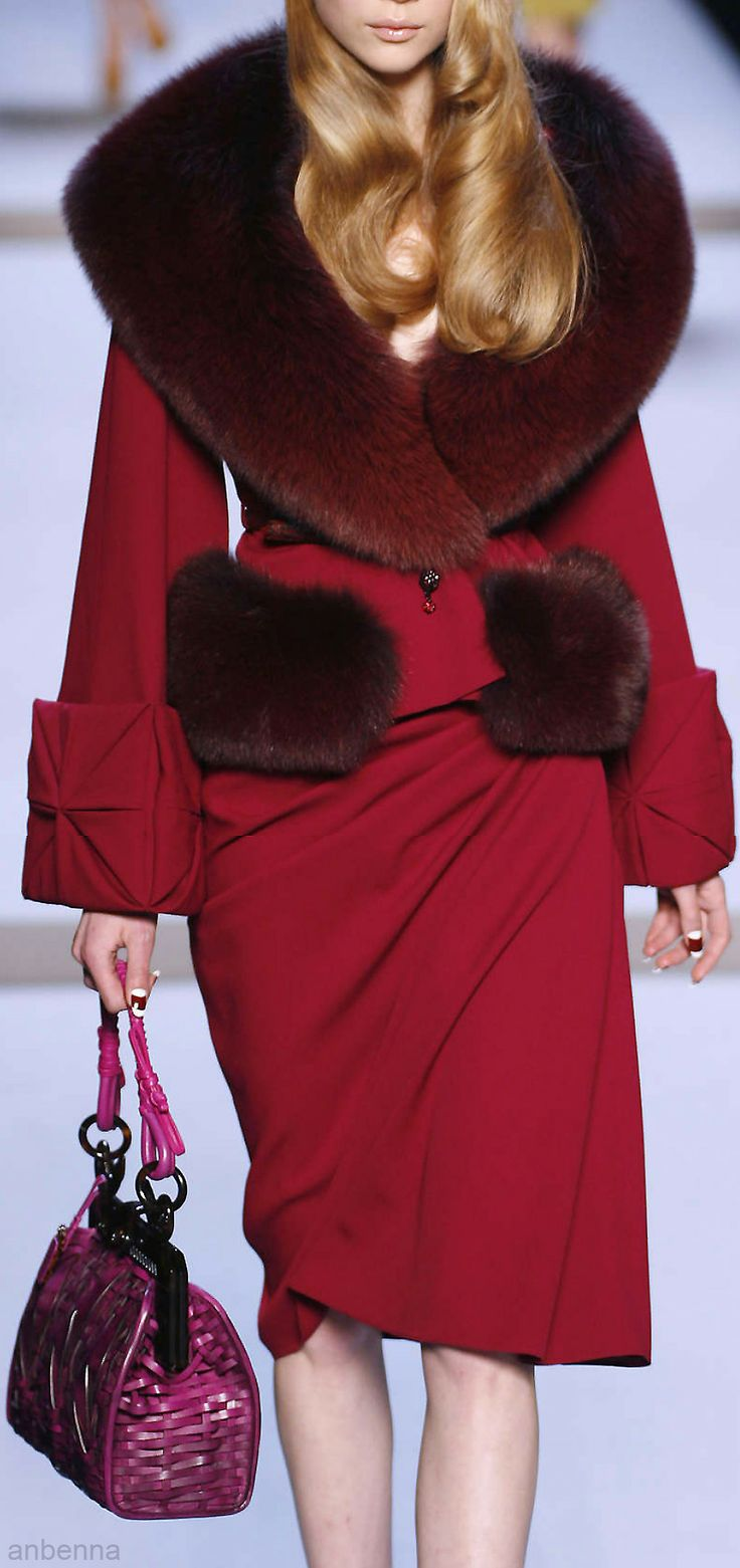 Christian Dior |- I love this coat...maybe if I ever win the lottery.... :)