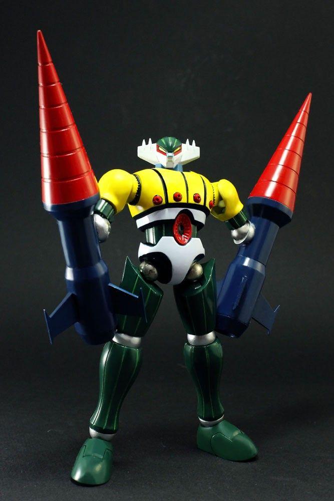 Jeeg Robot D'Acciaio Evolution Toys Dynamite Action! No.20 Kotetsu Jeeg